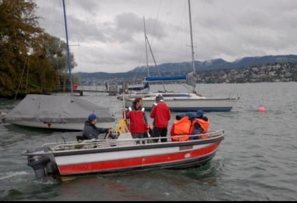 Clubprojekt 2011 - Sonntag auf dem Zürichsee